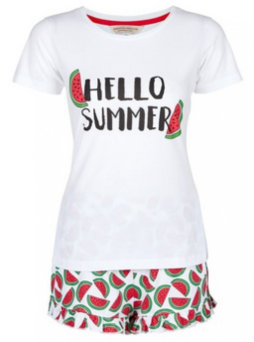 Dorothy Perkins Red Watermelon Set Pyjama