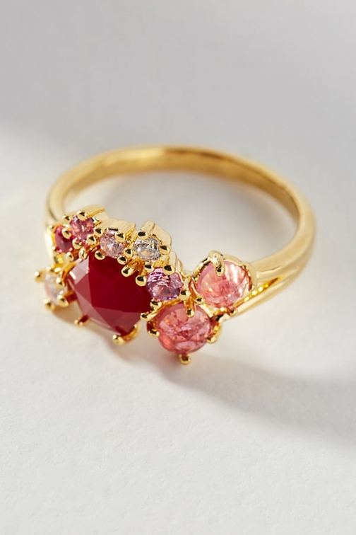 Anthropologie Birthstone Ring