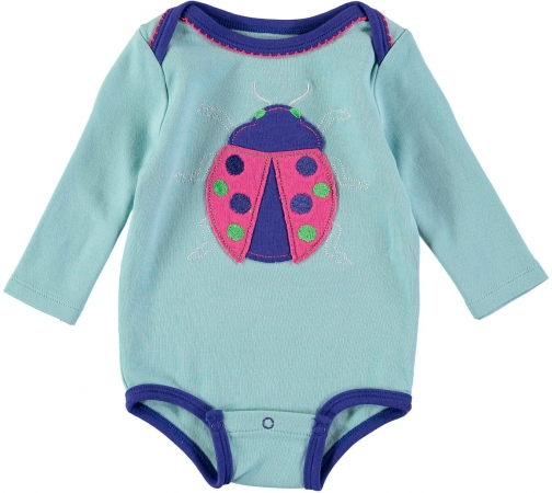 House Of Fraser Rockin' Baby Girls Ladybird Babygrow