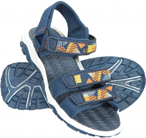 Mountain Warehouse 3-Strap Kids - Blue Sandals