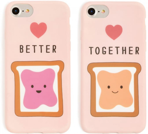 Forever21 Forever 21 Better Together Phone Set For IPhone 6/7/8 , Pink/multi Case