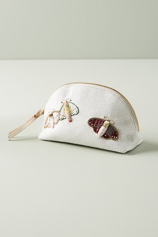Anthropologie Magnificent Moth Pouch - Pink Bag