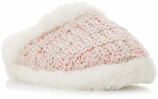 Head Over Heels Franny Knitted Slippers