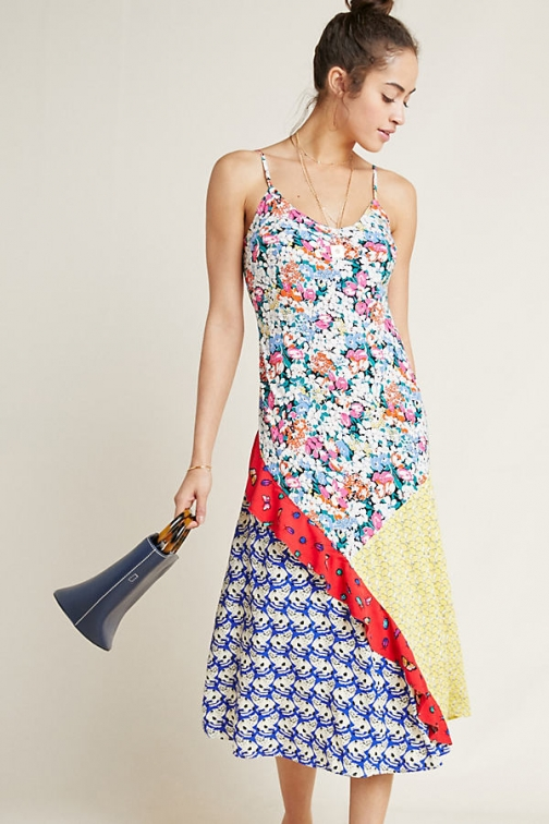52 Conversation By Anthropologie Colloquial Bias Dress