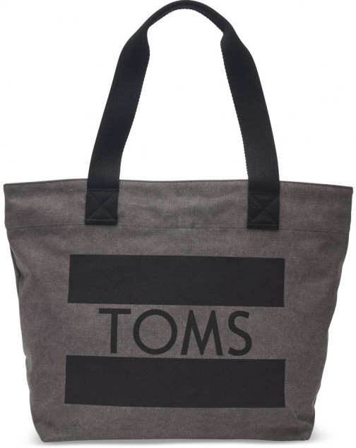 Toms Grey TOMS Flag Transport Bag Tote