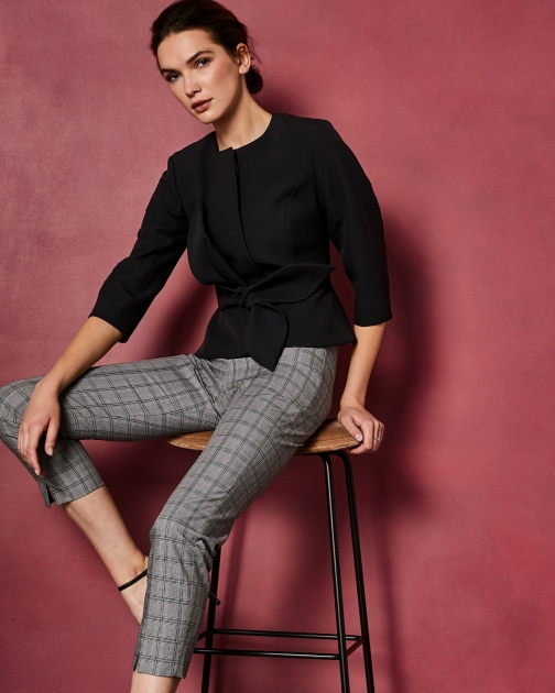 Ted Baker Structured Bow Waist Jacket