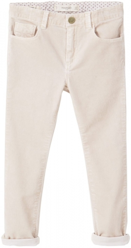 Mango Girls Corduroy Slim-Fit Trouser
