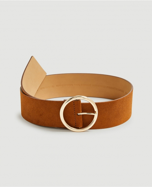 Ann Taylor Wide Suede Belt