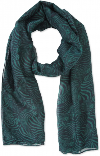 Mountain Warehouse Zebra Print Lightweight - Blue Scarf
