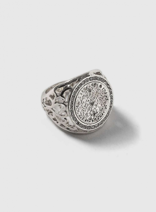 Dorothy Perkins Womens Silver Sovereign - Silver Ring