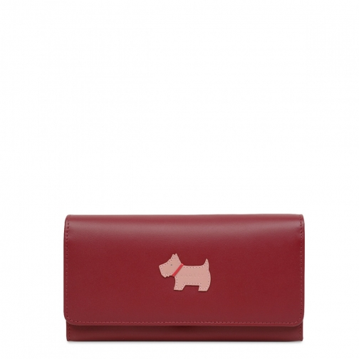 Radley Heritage Dog Large Flapover Matinee Purse
