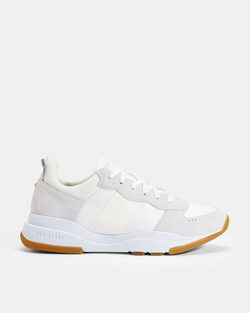 Ted Baker Suede Layered Sole Trainer
