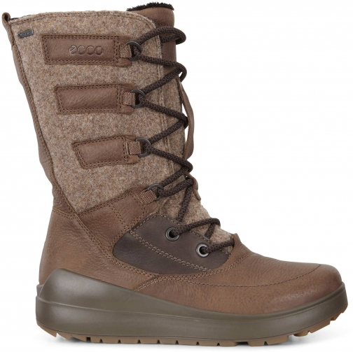 Ecco Womens Noyce Gtx High Size 4-4.5 Birch Boot
