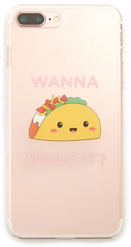 Forever21 Forever 21 Taco Phone For IPhone 6/7/8 Plus , Yellow/multi Case