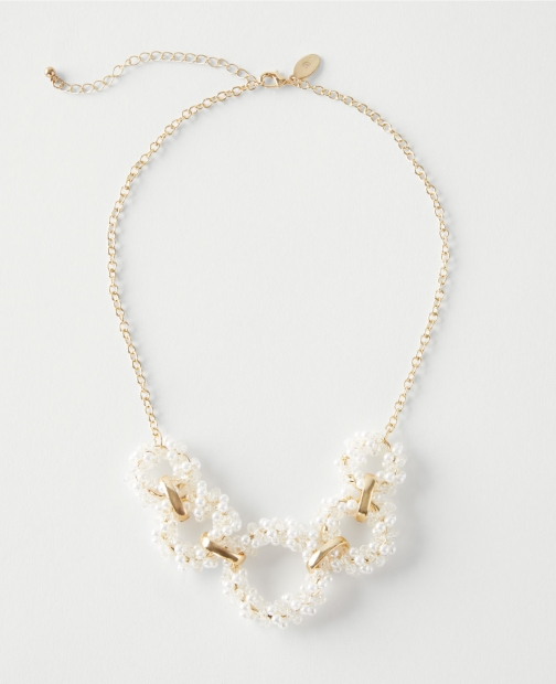 Ann Taylor Factory Glitzy Statement Necklace