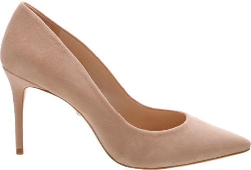 Schutz Shoes Rosie Pump - 5 Honey Beige Suede Pumps