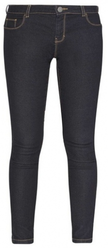Dorothy Perkins Petite Black 'Ashley' Skinny Jeans