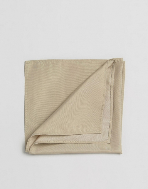 Asos Stone Pocket Square