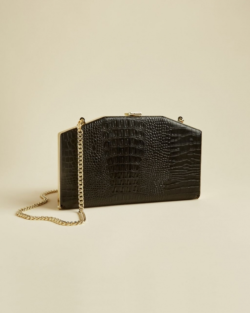 Ted Baker Leather Exotic Bag Clutch