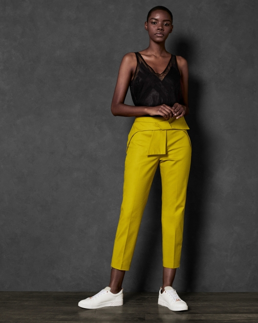 Ted Baker Bow Waist Trousers Trouser