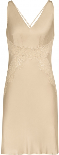 Reiss Katherina - Lace Champagne, Womens, Size L Chemise