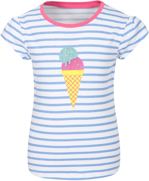 Mountain Warehouse Glitter Ice Lolly Kids Tee - Blue T-Shirt
