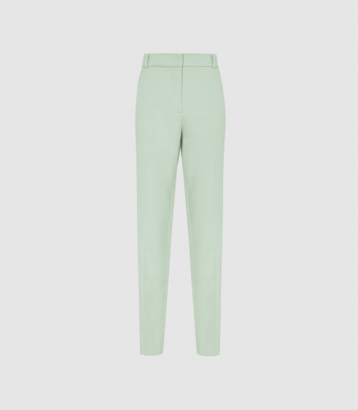 Reiss Evie Trouser - Aqua, Womens, Size 4 Tailored Trouser