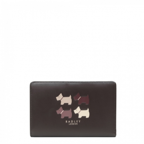 Radley Quad Dog Medium Zip Purse