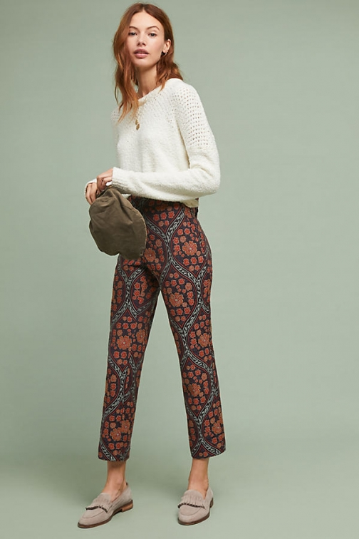 Anthropologie The Essential - Assorted, Size Uk Slim Trouser