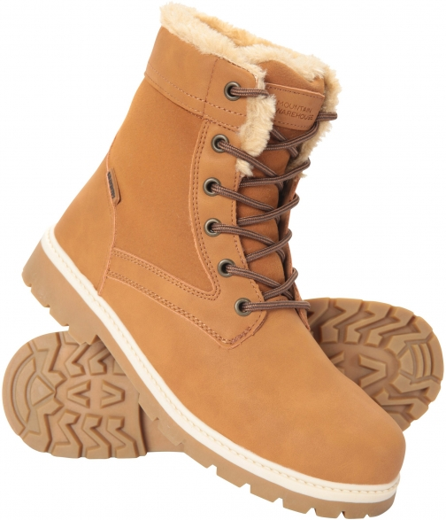 Mountain Warehouse Womens Casual Waterproof - Brown Boot