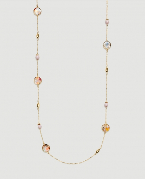 Ann Taylor Factory Acetate Illusion Necklace