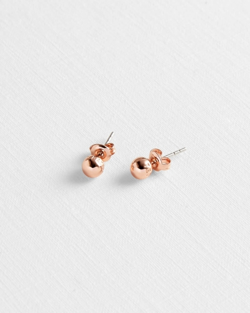 Ted Baker Branded Ball Stud Earring