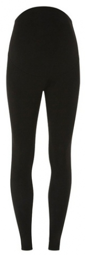 Dorothy Perkins Womens **Materntiy Black Over The Bump - Black, Black Legging