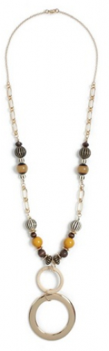 Dorothy Perkins Multi Colour Bead Long Necklace