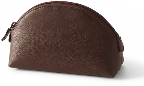 Lands' End Dome Cosmetic - Lands' End - Brown Pouch