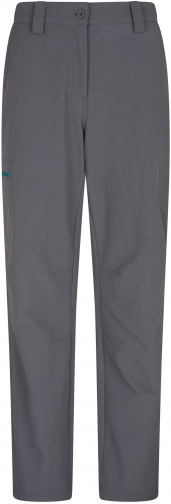 Mountain Warehouse Womens Hike 4-Way-Stretch Warm Trousers - Short Length - Grey Trouser