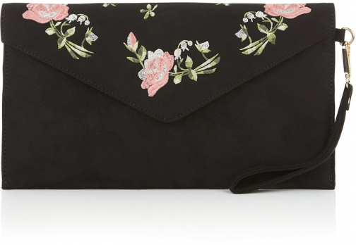 Oasis ROSE EMBROIDERED Clutch