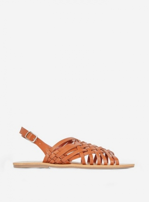 Dorothy Perkins Tan 'Fisher' Woven Sandals