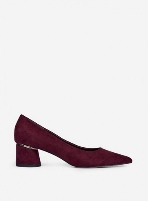 Dorothy Perkins Burgundy 'Dragonfly' Shoes Court