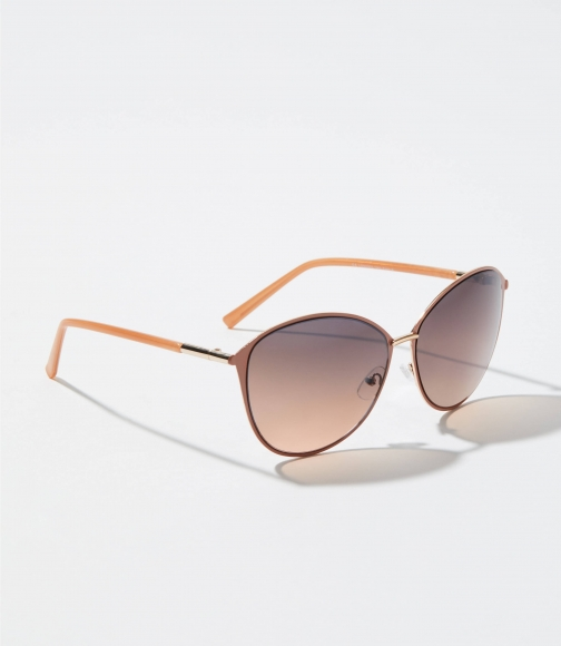 Loft Pastel & Metallic Oversized Sunglasses