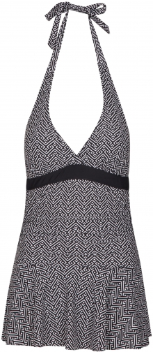 Mountain Warehouse Ocean Notion Womens Skirted - Black Swimsuit