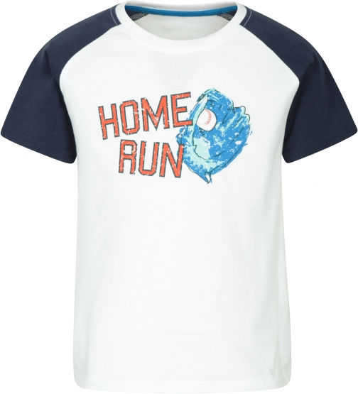 Mountain Warehouse Baseball Kids Tee - White T-Shirt