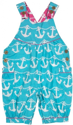House Of Fraser Kite Baby Girls Anchor Bib Short