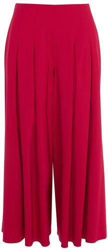 Karen Millen Pleated Wide-leg Trousers Wide Leg Trouser