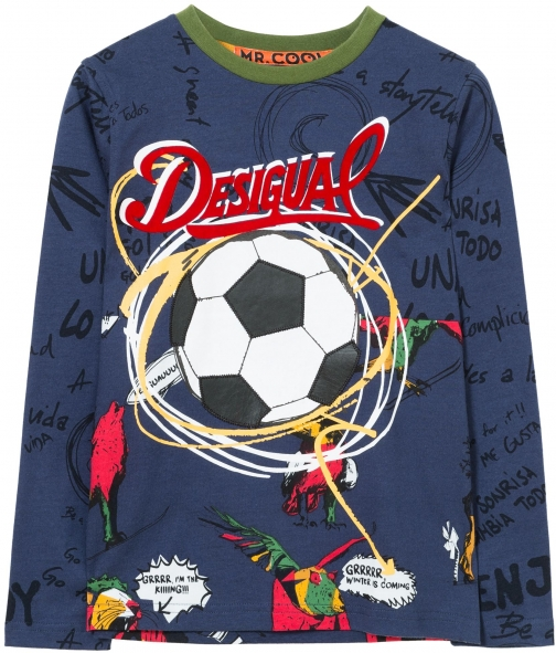 Desigual Boys Luis Cotton T-Shirt