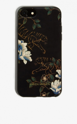 Karen Millen Tiger Print IPhone Case