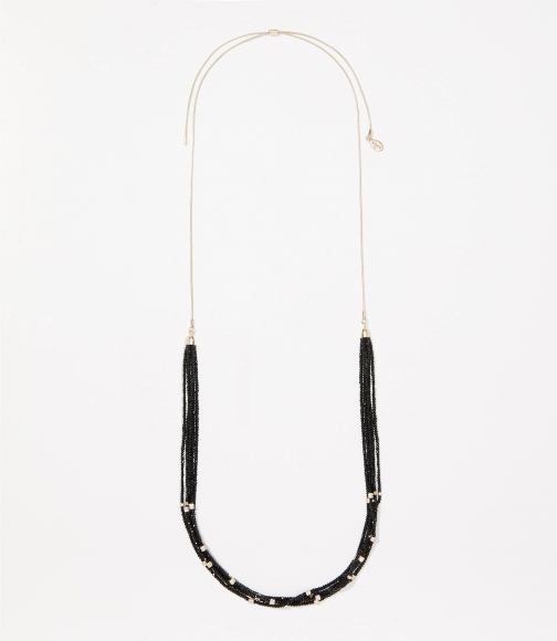 Loft Icy Pull Tie Necklace