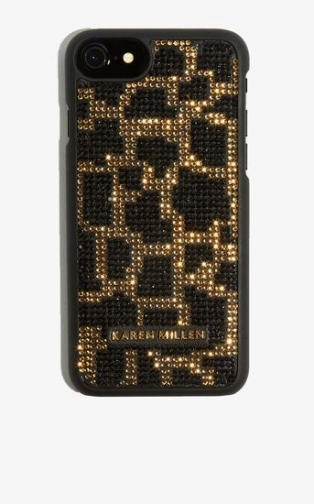 Karen Millen Embellished Phone Case