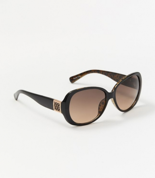 Loft Filigree Round Sunglasses