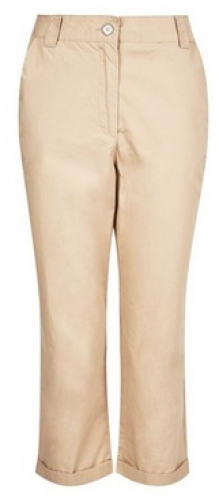 Dorothy Perkins Stone Cropped Trouser